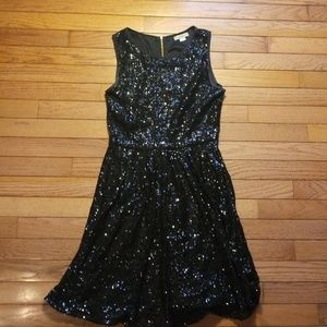 Sparkly black party dress